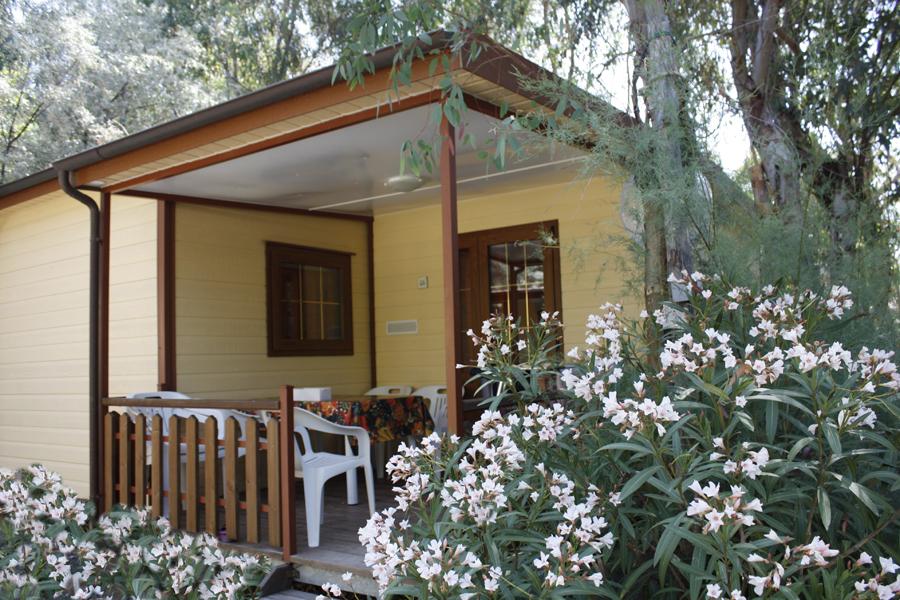 Luxe bungalow camping Baia del Marinaio, Toscane