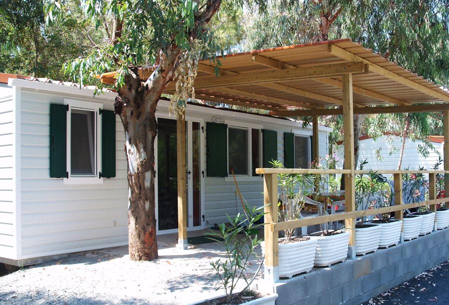 Space bungalow op camping Baia del Marinaio, Tosca