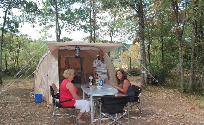 Tent KARSTEN - zonder sanitairgebouw
