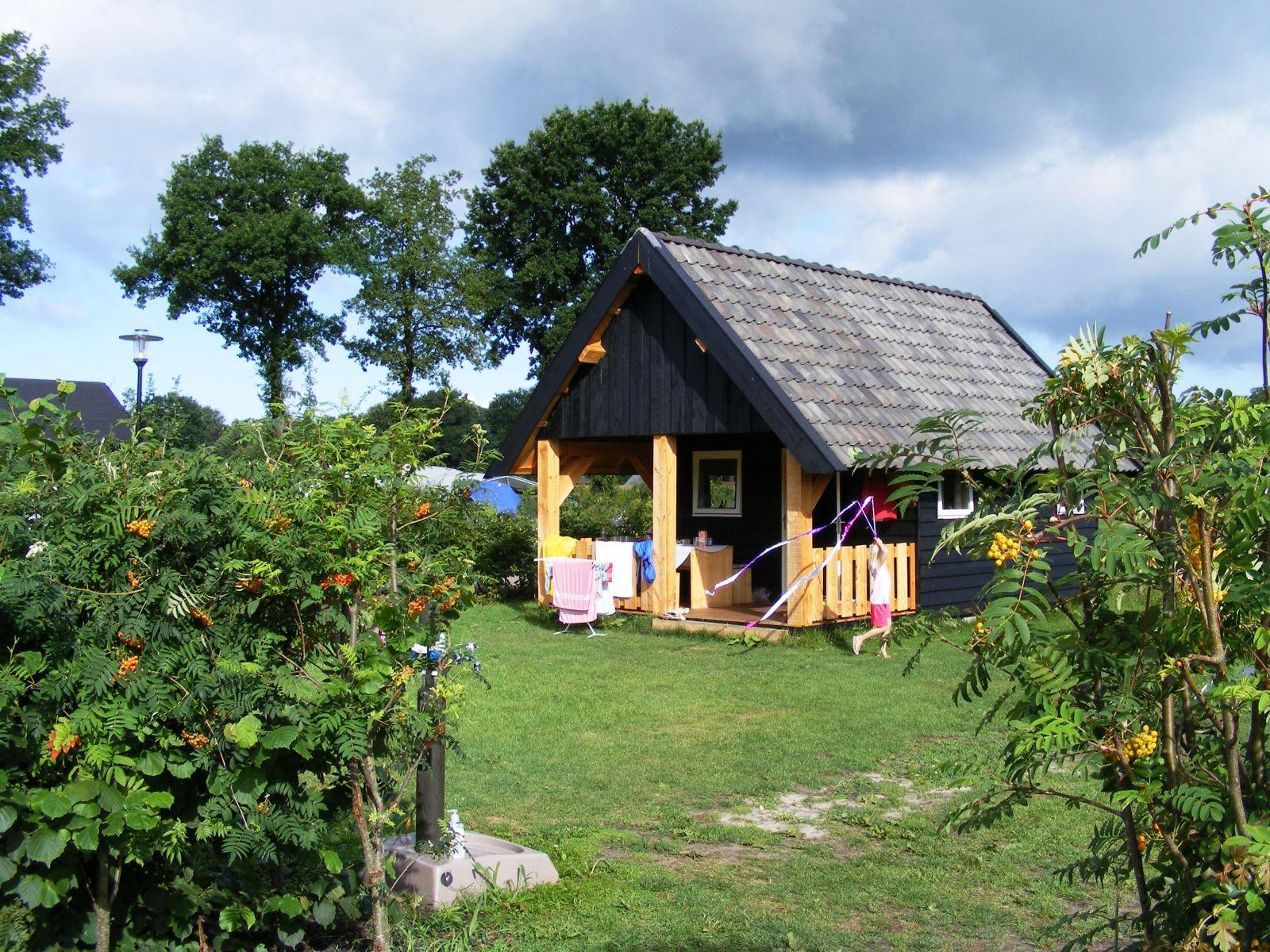 Trekkershut op Recreatiepark De Boshoek
