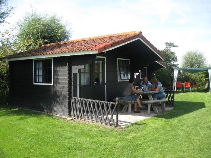 Blokhut op Camping De Veerhoeve