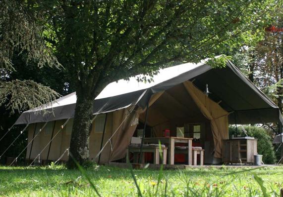 Safaritent te huur Camping le Couderc