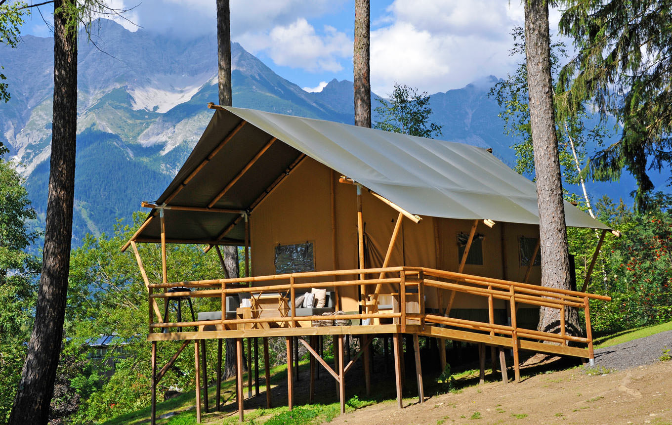 Safari-Lodge Lion zu vermieten Natterersee