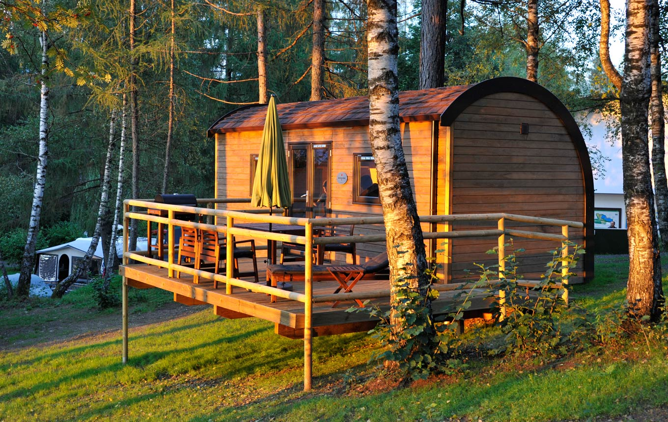 Family Wood-Lodge zu vermieten Natterersee